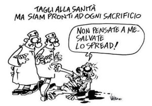 Vignetta sulla sanità