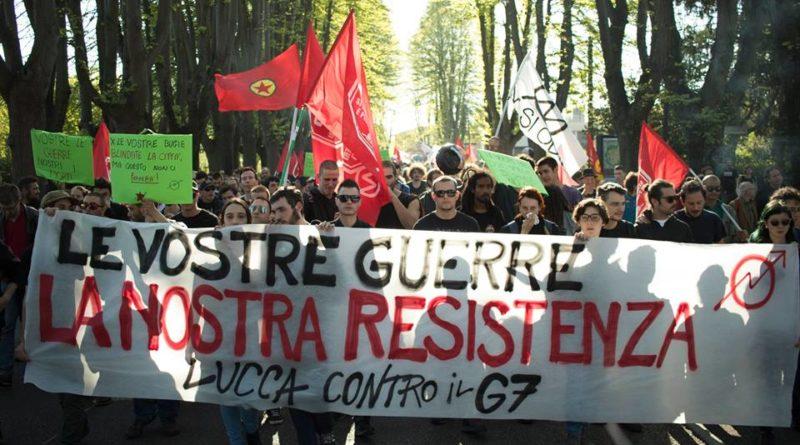 """3 fogli di via sospesi, ma il coordinamento contro il G7 rilancia: """"Via tutti"""""""