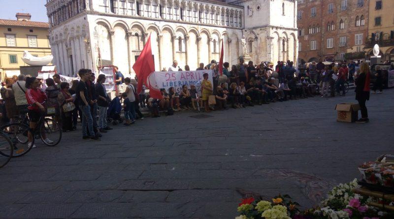 25 aprile a Lucca. Tante resistenze, tante liberazioni ancora da ottenere