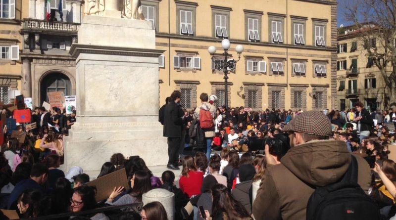 Anche a Lucca è Climate Strike