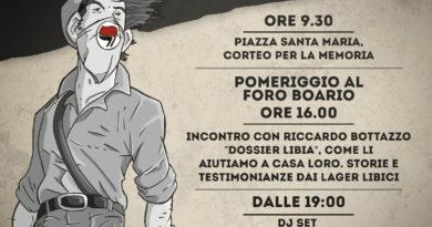 25 aprile a Lucca. Corteo in città la mattina e poi diverse iniziative al Foro Boario