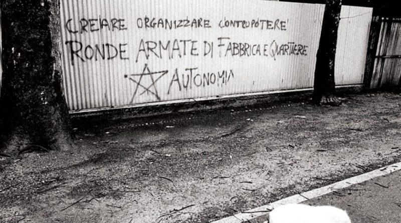 L'Autonomia Operaia Vicentina. Incontro con Donato Tagliapietra