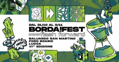 Verso Flash Forward. Dal 31 ottobre al 3 novembre la VI edizione del Borda!Fest